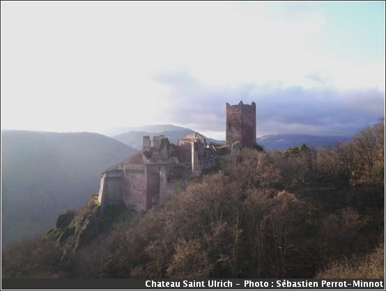 Saint Ulrich chateau des Vosges
