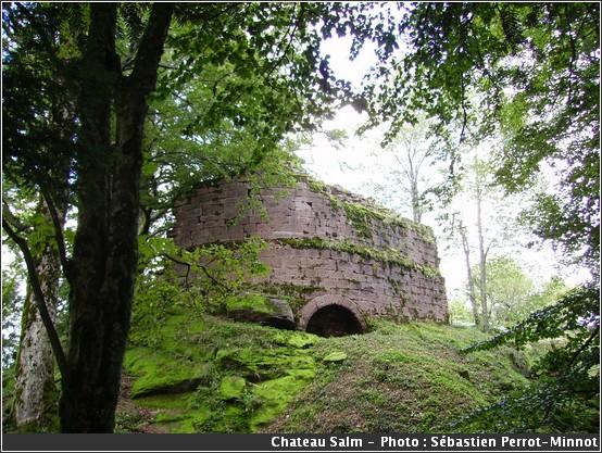 Salm Chateau Vosges