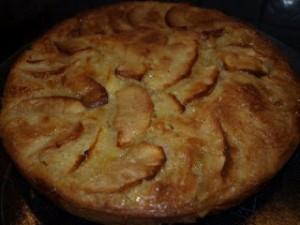 gateau aux pommes et au miel antonietta