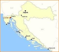 lovran carte croatie