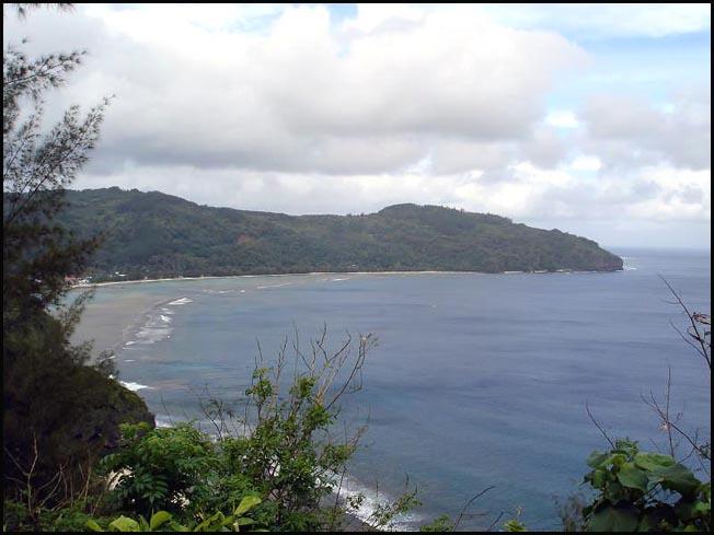 rurutu polynesie cote est