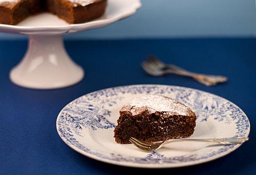 torta caprese chocolat noir