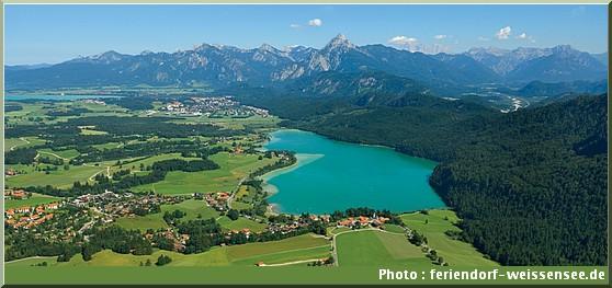 Weissensee lac baviere Schwangau allgaü