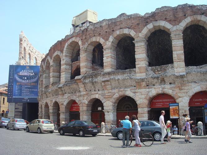 Verone Antique arena piazza Bra