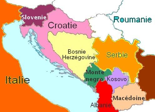 Balkans carte