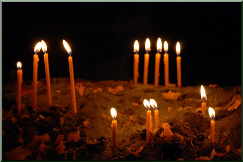 Bougies Monastere Gueghard armenie