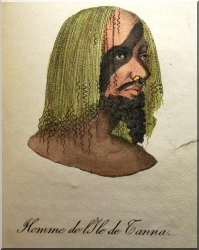 Homme de l'Ile de Tanna