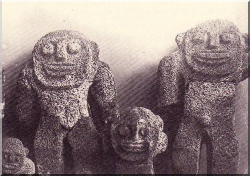 Ile Nihoa statues bishop museaum