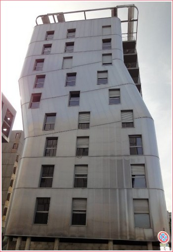 Lyon Confluence immeuble moderne
