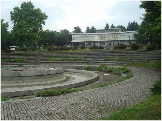 Maison des fleurs Mausolee Tito