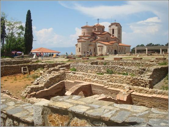 Ohrid Eglise saint Kliment