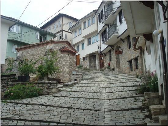 Ohrid vieille ville