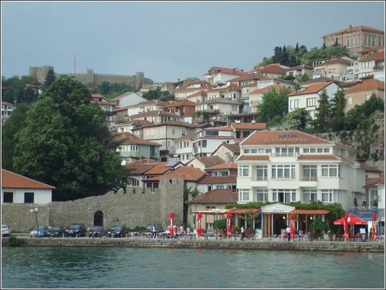 Ohrid ville et forteresse