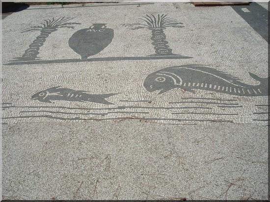 Ostia antica mosaique