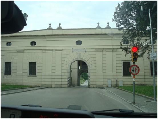 Palmanova porte de la ville