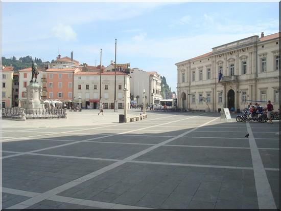 Piran Place Tartini Slovenie