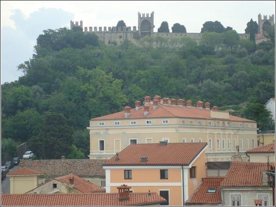 Piran chateau Voyage de lItalie aux Balkans (Slovénie, Croatie, Serbie, Macédoine, Albanie)