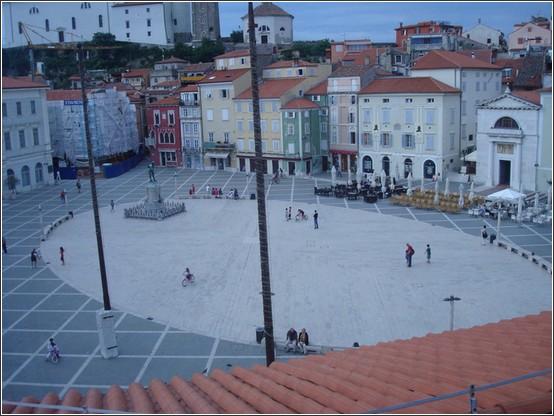 Piran place centrale