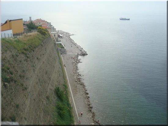 Piran plages slovenie