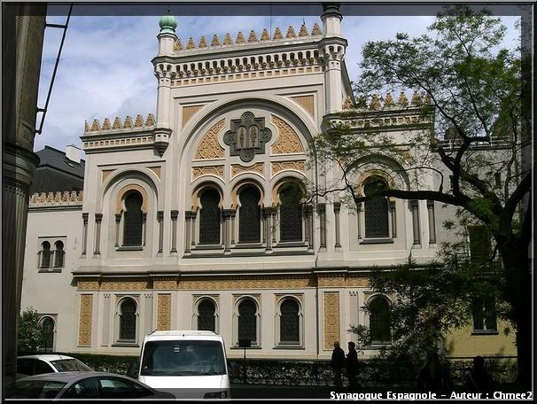 Prague synagogue espagnole