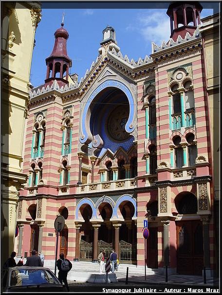 Prague synagogue jubilaire