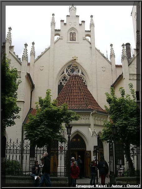 Prague synagogue maisel