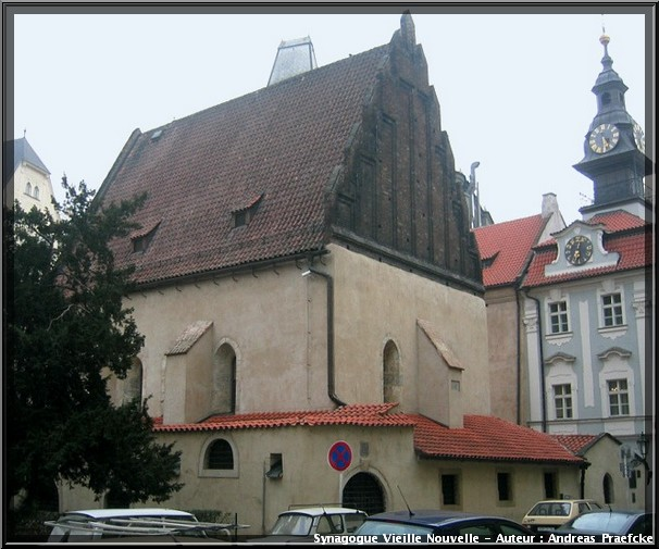 Prague synagogue vieille nouvelle Staronova Synagoga