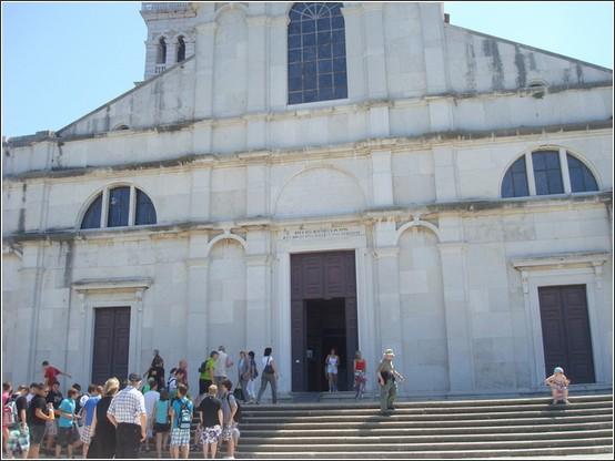 Rovinj Eglise sainte eulalie