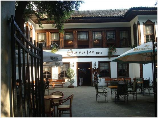 Sarajet restaurant tirana albanie