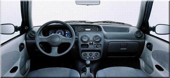 Solenza Dacia interieur