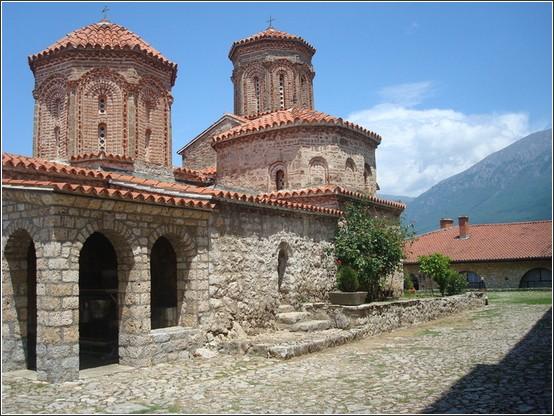 Sveti Naum Monastere Macedoine