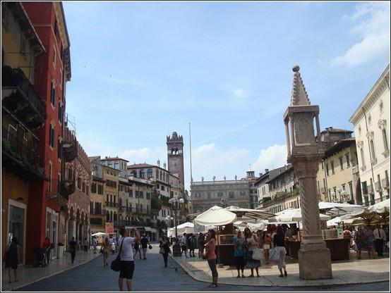 Verone Piazza delle erbe
