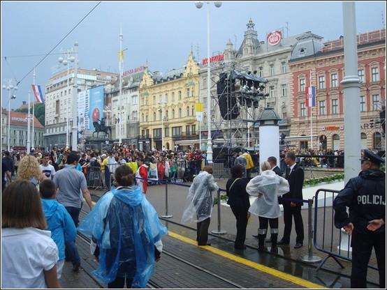 Zagreb Trg Bana Jelacica
