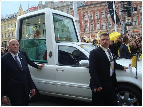 Zagreb visite pape Benoit XVI