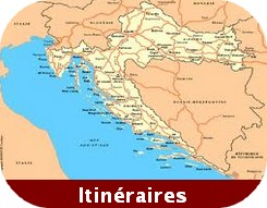 itineraires croatie