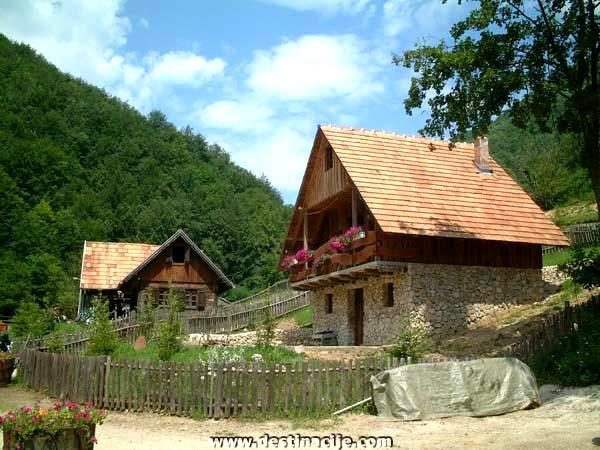 parc naturel croatie Zumberak Eko selo