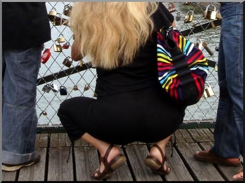 pont des arts paris cadenas amoureux