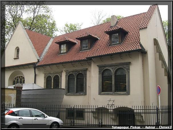 prague synagogue pinkas