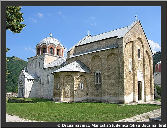 monastère studenica serbie