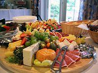 Buffet cuisine allemande