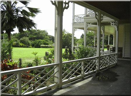 Maison de Stevenson Samoa