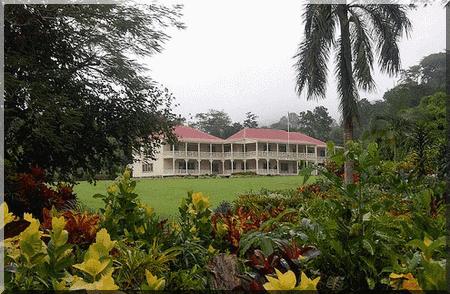 Maison d'ecrivain Robert Louis Stevenson Samoa