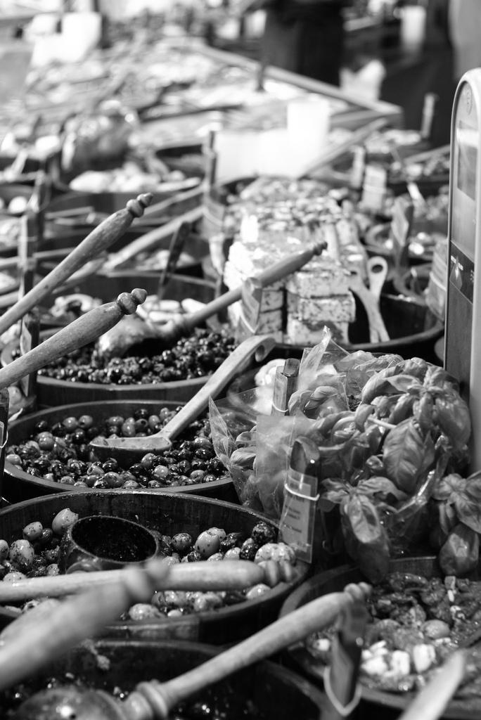 Viktualienmarkt munich muenchen olives