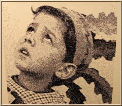 Algerie Enfant Traverser sans la voir : Histoire dexposition