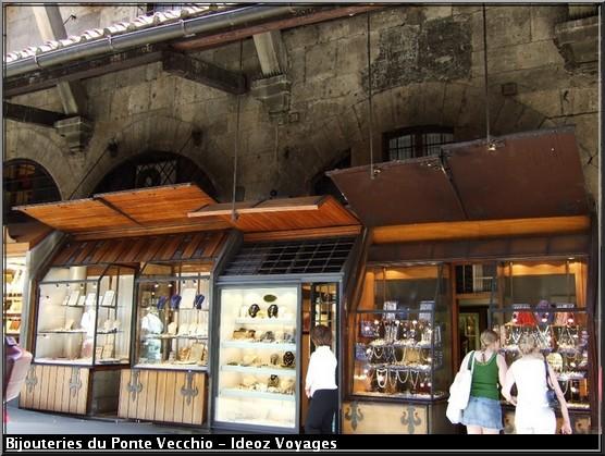 Bijouteries Ponte Vecchio Florence