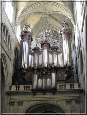 Cathedrale Auch orgue
