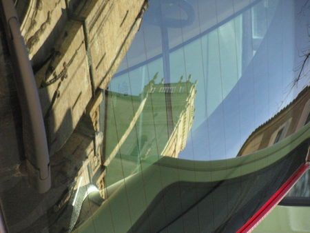 Cathedrale Auch reflets 2