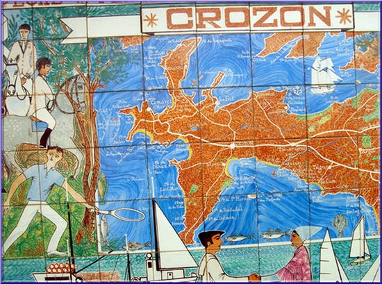 Crozon carte