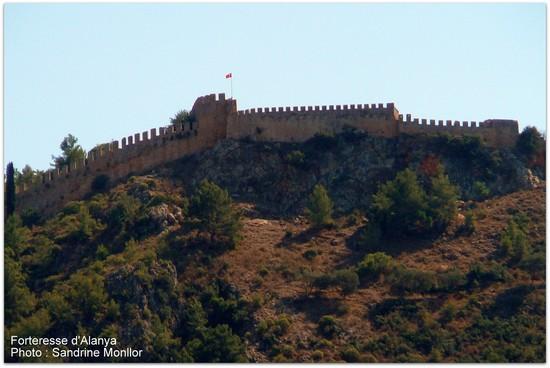 Forteresse Alanya Turquie