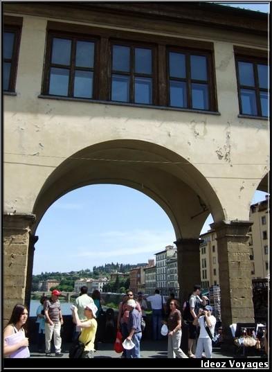 Ponte Vecchio touristes
